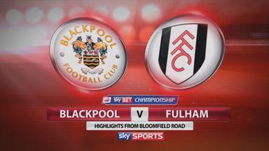 Blackpool 0-1 Fulham