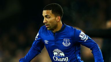 Aaron Lennon: Uncertain to stay on at Everton
