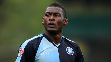 Aaron Pierre: Misses out for Wycombe