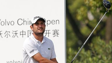 Alexander Levy: Faltered after a flying start to his third round in Shanghai