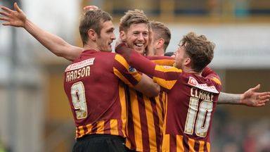 Bradford: Heading to Swindon on the opening day