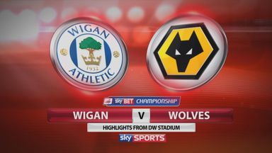 Wigan 0-1 Wolves
