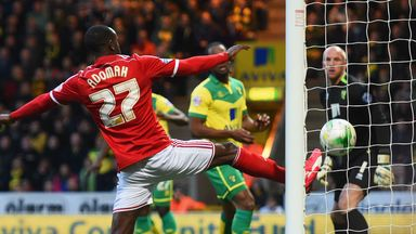 Alex Tettey heads the winner into his own goal
