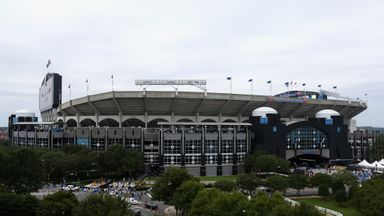 The Bank of America Stadium, where Chelsea will face PSG on July 25