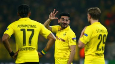 Borussia Dortmund's Ilkay Gundogan could be on his way to the Premier League