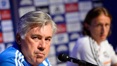 Carlo Ancelotti: Boss blamed for Luka Modric injury