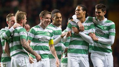 Champions Celtic will have all their post-split matches shown on Sky Sports