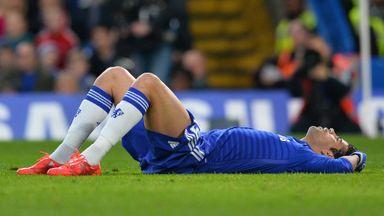 Diego Costa was plagued by hamstring injuries last season