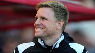 Eddie Howe was voted manager of the year after shining on the south coast