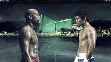 Floyd Mayweather will put his 47-0 record on the line against Manny Pacquiao on May 2 in Las Vegas