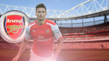 Olivier Giroud: Gunning for a first victory against Chelsea