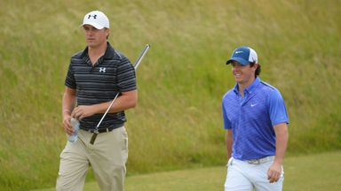 Jordan Spieth and Rory McIlroy: Sawgrass playing partners