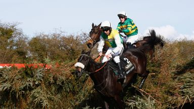 Many Clouds winning last year's National