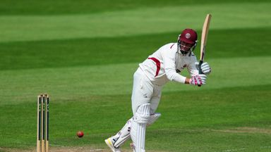 Marcus Trescothick: Hit 140 for Somerset against Middlesex at Taunton