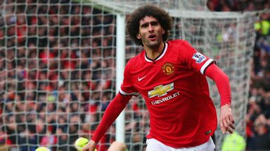 Marouane Fellaini has been in fine form of late for Manchester United
