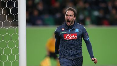 Gonzalo Higuain: Scored 18 goals for Napoli in Serie A last term