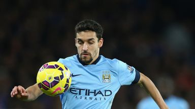 Jesus Navas: Man City travel to Crystal Palace in MNF