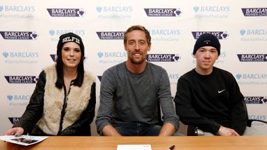Peter Crouch: Stoke City striker is contemplating a career in management