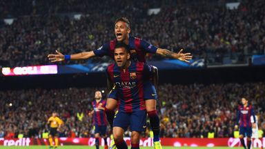 Barcelona are favourites to win the Champions League