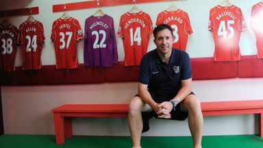 Robbie Fowler; Part of the Liverpool Legends line-up for forthcoming matches against Real Madrid and Manchester United.