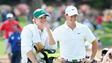 Horan caddied for McIlroy at Augusta last month