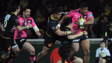 Jonathan Danty late try helped Stade Francais snatch a late draw at La Rochelle