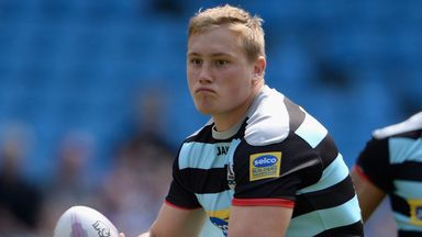 James Greenwood: has made just one Super League appearance so far for the Warriors in 2015