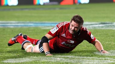 Richie McCaw picked up his latest injury during the Super Rugby match against the Blues