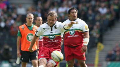 Stephen Myler: Kicked six penalties and a conversion against Saracens