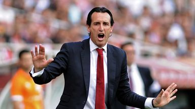 Sevilla coach Unai Emery claims he turned down an approach from West Ham.