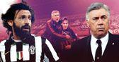 Andrea Pirlo v Carlo Ancelotti: Juve star faces his old AC Milan mentor