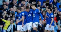 Kevin Mirallas: Everton celebrate their third goal