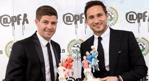 Gerrard and Lampard honoured