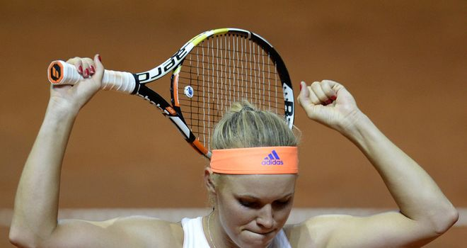Caroline Wozniacki: Yet to venture beyond the quarter-finals at the French Open