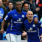 Wes Morgan and Esteban Cambiasso: Celebrate making our TOTW