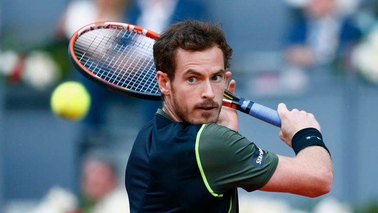Andy Murray beat Kei Nishikori to reach the final of the Madrid Masters