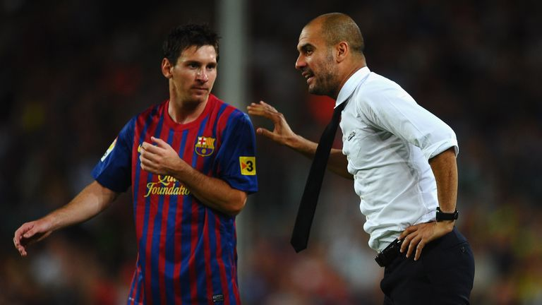 Newspaper speculation has linked Lionel Messi with a possible  reunion with his former boss at the Etihad