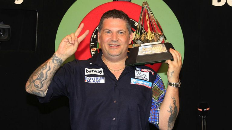 The Scot secured his second title after defeating Van Gerwen in the final last May
