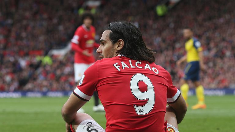 Gary Neville: Radamel Falcao looks to be heading out of Man United