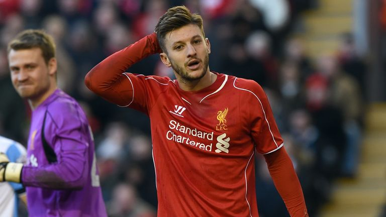 Adam Lallana: Season has been interrupted by injuries