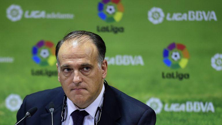 La Liga president Javier Tebas believes the system of Financial Fair Play is not working