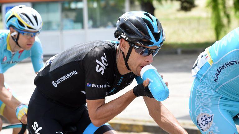 Richie porte withdraws from giro d 39 italia due to injury for Richie porte crash