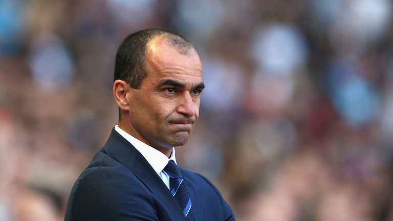 Roberto Martinez has made mistakes this season.