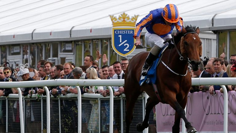 Hans Holbein: One of a trio of Ballydoyle runners in the Derby