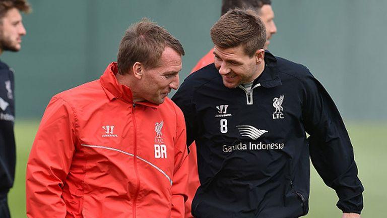 Brendan Rodgers coached Gerrard at Liverpool
