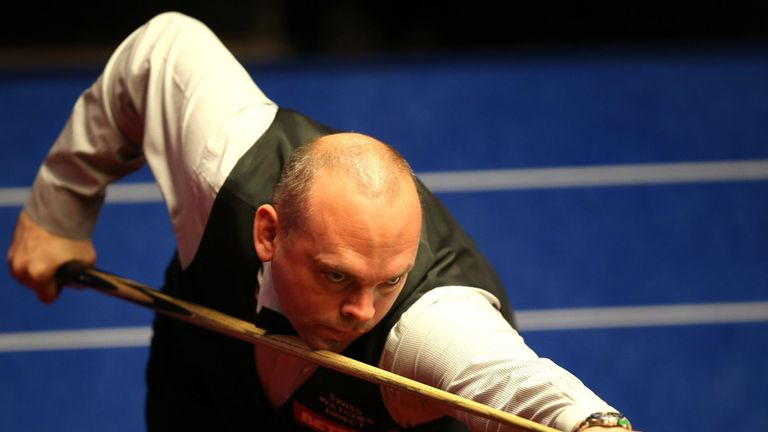 Bingham wants four more frames in the evening