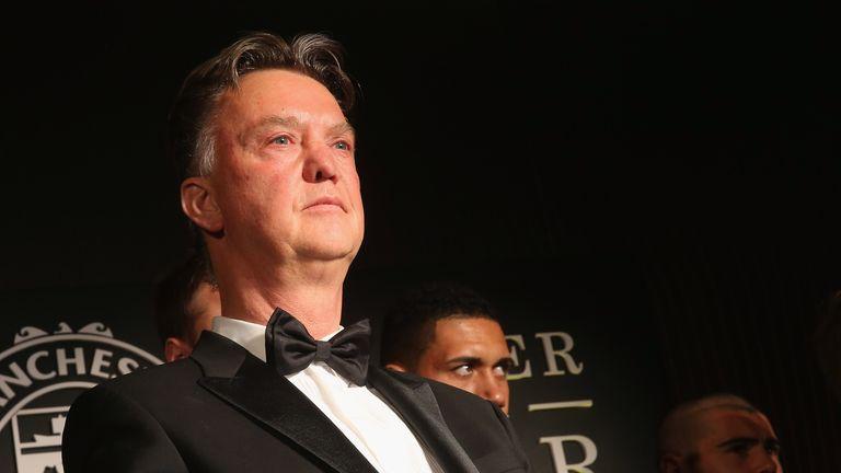 Louis Van Gaal's Seven-minute Awards Speech