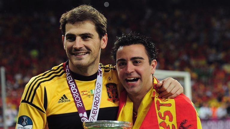 At international level, Xavi's success continued