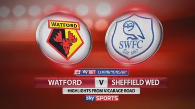Watford 1-1 Sheffield Wednesday
