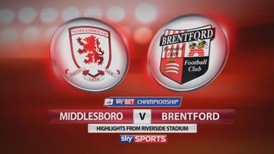 Middlesbrough 3-0 Brentford